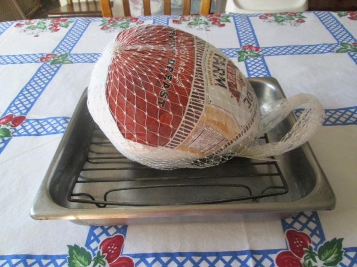 Frozen turkey breast